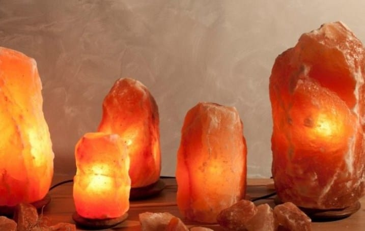 Himalayan salt lamp sizes