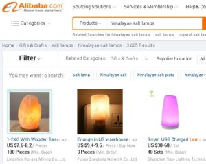 Where to buy himalayan salt lamp online Alibaba