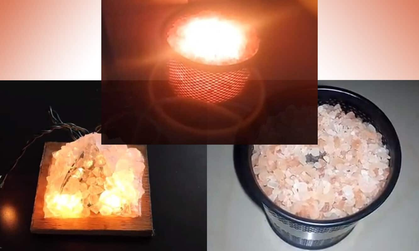 DIY Pyramid Himalayan Salt Lamp