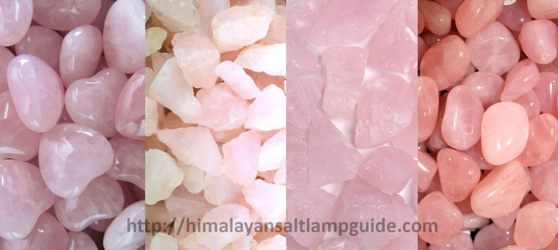Color Types of Rose Quartz Crystal - What does a rose quartz lamp do