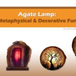 Natural Agate Lamp