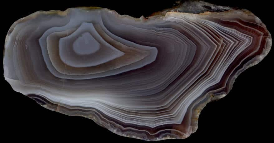 Wall-lining Banding Agate