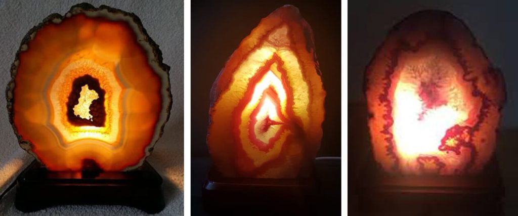 What is an agate lamp