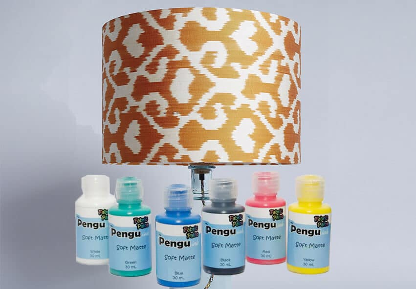 Fabric paint - types of paints you can use on your lampshade